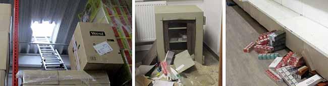 Dortmund: Lager eines Tabakgroßhandels an der Bornstraße ausgeräumt – Schaden beträgt mehrere hunderttausend Euro