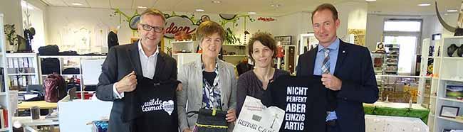"""Willkommene Unterstützung: 12.000 Euro für das Kreative Kaufhaus """"ConcordiArt"""" am Borsigplatzgespendet"""