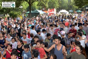 Auf dem Nordmarkt fand das Djelem-Djelem-Familienfest statt.