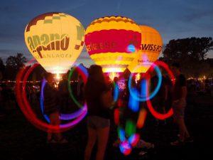 Lichterfest im Fredenbaumpark: Das Wetter spielte mit und die Stimmung war gut. Foto: Roland Klecker