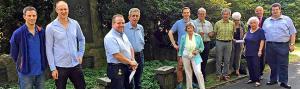 Offiziell gegründet wurde der Förderverein Nordfriedhof e.V. (Foto: Joachim vom Brocke)