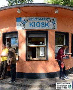 Der Nordmarkt-Kiosk ist sehr beliebt - aber Alkohol und Kippen sucht man hier vergeblich.