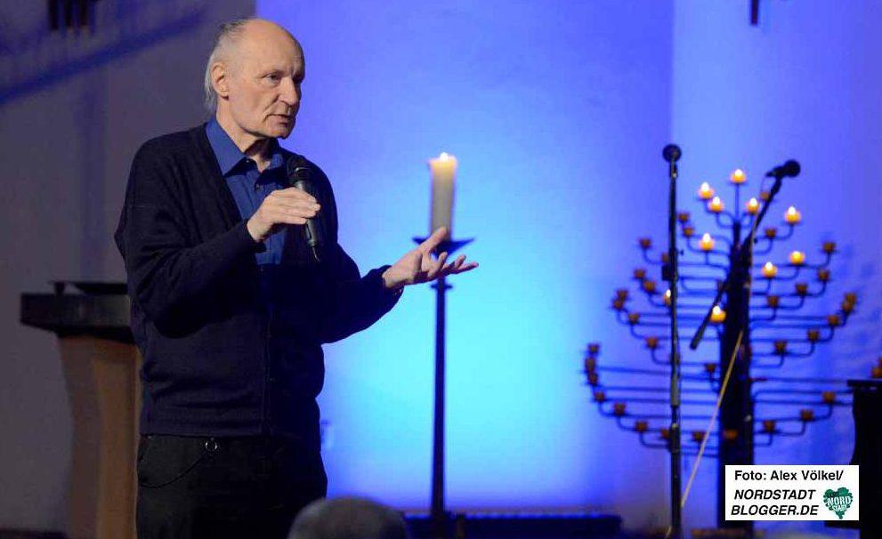 Der Theologe Eugen Dreiermann hielt in der Pauluskirche eine bemerkenswerte Rede.