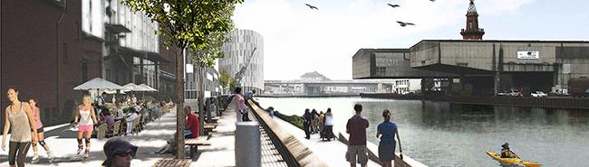 Hafen AG und Gerber-Architekten legen ihre Visionen für die Speicherstraße vor – Hafenpromenade und 4000 Arbeitsplätze