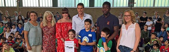 """Geschafft: Die Nordmarkt-Grundschule darf sich jetzt """"Schule ohne Rassismus"""" nennen"""