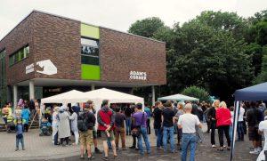 Im Westpark fand das Willkommensfest statt. Fotos: Roland Klecker