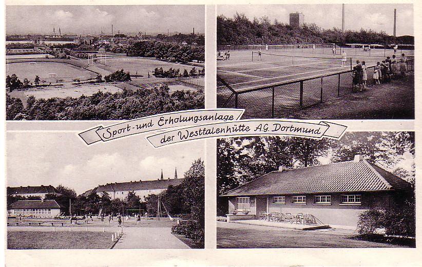 Der Hoeschpark besteht 75 Jahre. Bild: Sammlung Klaus Wintet