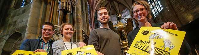 """Science-Slam in der Reinoldikirche sowie Kino und Kirche in Dortmund mit """"Mr. May und das Flüstern der Ewigkeit"""""""
