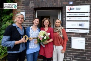 Das Team des psychosozialen Zentrums der AWO in der Langen Straße 44.