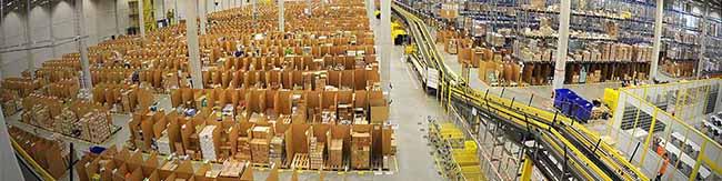 1.000 VersandmitarbeiterInnen gesucht: Amazon beginnt mit der Personalsuche für das neue Logistikzentrum in Dortmund