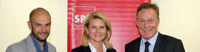 Sabine Poschmann und Marco Bülow wollen 2017 erneut für die Dortmunder SPD in den Bundestag einziehen