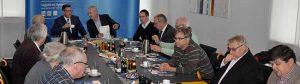 Vertreter der CDU-Ratsfraktion sowie Mitglieder aus den Bezirksfraktionen waren bei der Hafen AG zu Gast.