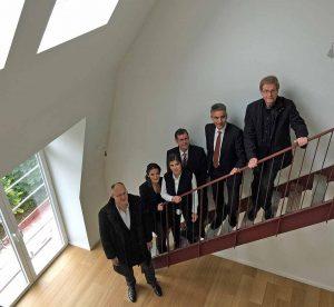 Auf rund 1500 Quadratmetern sind in Dorstfeld u.a. 17 großzügige Maisonettewohnungen entstanden, die besichtigt wurden. Fotos: Joachim vom Brocke