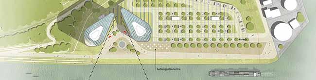 """Weiterer Planungsvorschlag: Zwei """"Port-Tower"""" im Hafen Dortmund könnten Raum für bis zu 1800 Arbeitsplätze bieten"""