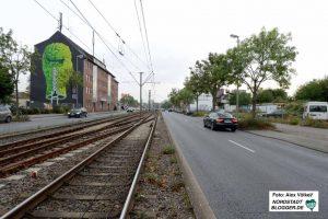 Die Bornstraße als Hauptverkehrsachse soll attraktiver werden. Fotos: Alex Völkel
