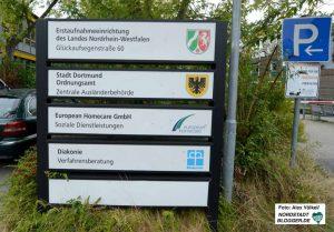 Sowohl die Erstaufnahmeeinrichtung als auch die Zentrale Ausländerbehörde in Dortmund werden geschlossen.