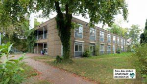In diesem Gebäude soll ab Mitte Oktober die Zentrale Ausländerbehörde (ZAB) einziehen.