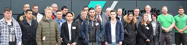 Mit dem Bus Richtung Zukunft: Jobcenter und Agentur für Arbeit werben in Dortmund für die duale Ausbildung