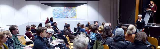"""Forum """"Bezahlbares Wohnen für alle"""" in Dortmund offenbart vielfältige Probleme, aber auch alternative Lösungen"""