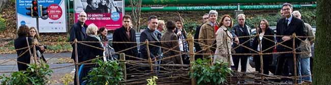 """FOTOSTRECKE """"Kein Kind zurücklassen"""": Österreicher informieren sich über Netzwerkarbeit in der Nordstadt"""