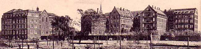 SERIE Nordstadt-Geschichte(n): Das imposante Krankenhaus der Barmherzigen Brüder ist heute fast vergessen