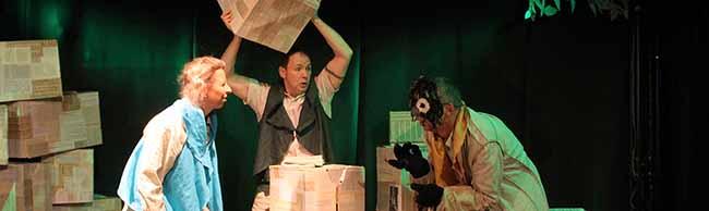"""""""In einem tiefen, dunklen Wald"""": Das """"Theater36"""" wagt sich im Wichernhaus erstmalig an ein Weihnachtsmärchen"""