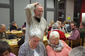 Die Ehrenamtlichen in der Lydia-Kirchengemeinde waren zum Dankeschönessen eingeladen. Fotos: Susanne Schulte