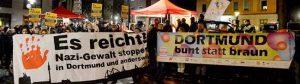 Die Zivilgesellschaft stellte sich auf dem Wilhelmplatz parteiübergreifend gegen die Neonazis auf.