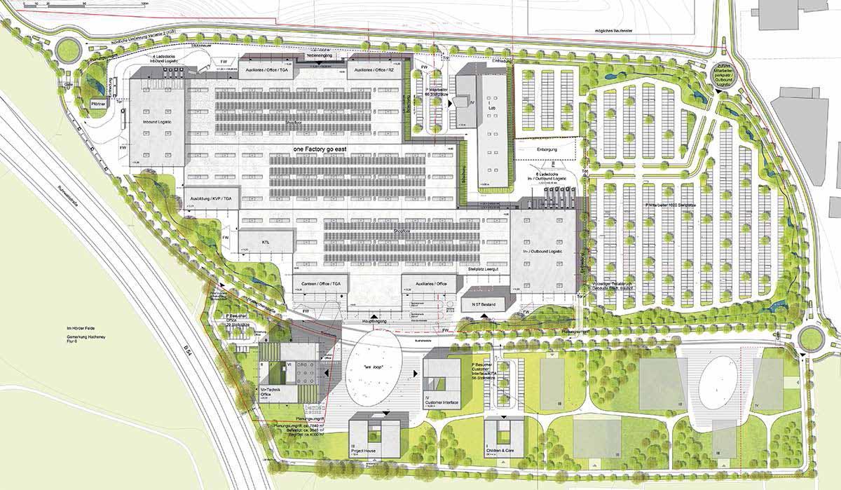 """An der Nortkirchenstraße soll der """"WILO Campus Dortmund"""" entstehen."""