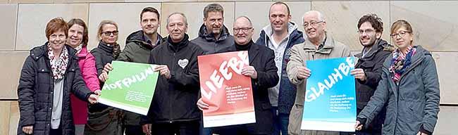 Die katholische Stadtkirche in Dortmund startet eine Werbekampagne: Kirche und Glauben ins Gespräch bringen