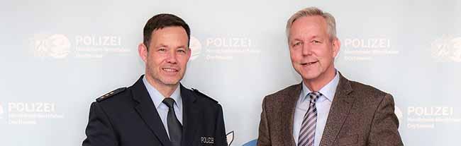Die Polizei im Dortmunder Norden hat einen neuen Chef: Hubert Luhmann ist Nachfolger von Peter Monien