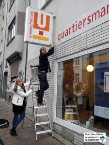Helga Beckmann und Alexander Kutsch waren acht Jahre lang die Quartiermanager. Foto: Alex Völkel