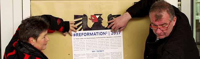 33 Thesen gegen die Benachteiligung konfessionsfreier und nichtreligiöser Menschen in Dortmund veröffentlicht