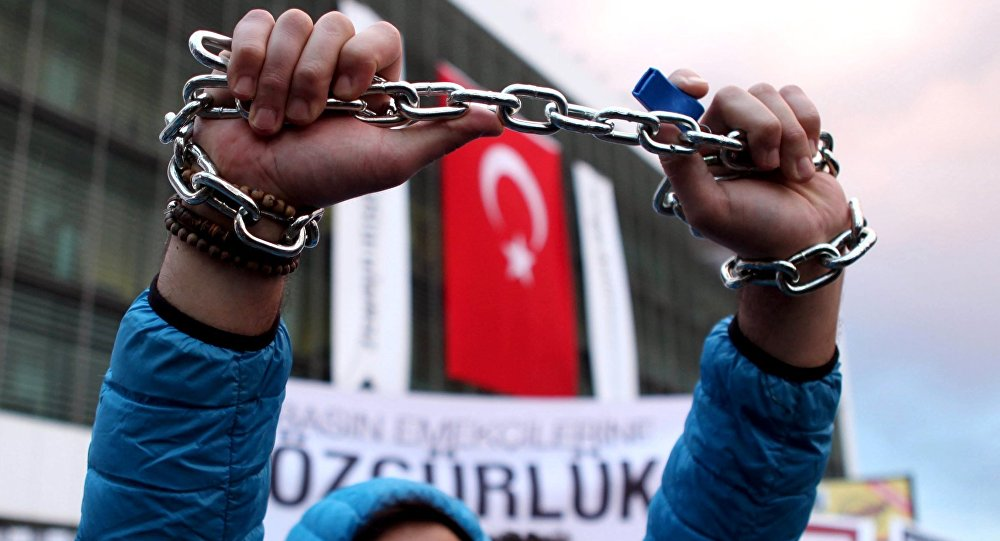 """Bei der Reihe """"Blackbox"""" stand die aktuelle Lage in der Türkei im Mittelpunkt. Foto: Schauspiel Dortmund"""