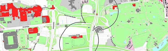 UPDATE: Drei Fliegerbomben in der südlichen Innenstadt erfolgreich entschärft: Sperrung der Bundesstraße 54