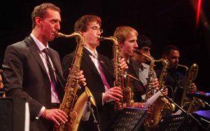 Mehrere Ensembles der Glen Buschmann Jazzakademie stellen sich vor.