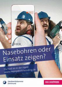 """Die Dortmunder Kammer hat den Smartphone-Videowettbewerb """"Mein Job ist mein Ding"""" für Auszubildende gestartet."""