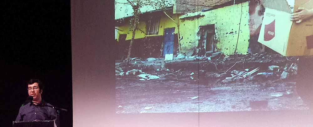 Ismael Küpeli lehrt an der Ruhruni Bochum und schreibt Beiträge für verschiedene Medien. Foto: Claus Stille