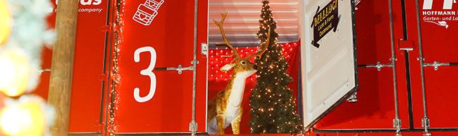 Weihnachtsmarkt in Dortmund mit Puppenbühne statt Überseecontainer: Jeden Adventstag wird ein Märchen gespielt