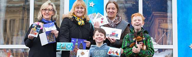 Der Kinderschutzbund aus der Nordstadt verkauft wieder Weihnachtskarten-Kollektion auch mit Dortmunder Motiven