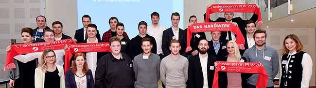 Handwerkskammer empfing Sieger des Leistungswettbewerbs: 43 JunghandwerkerInnen besonders ausgezeichnet