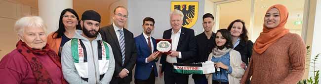 Zwei Wochen lang wohnen palästinensische Studierende in Dortmunder Gastfamilien.
