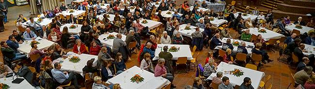 Neujahrsempfang im Dietrich-Keuning-Haus als Dankeschön für alle in der Nordstadt engagierten Menschen
