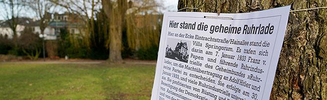 Am Holocaust-Gedenktag erinnern Antifaschisten an Opfer und Wegbereiter des Nationalsozialismus in Dortmund