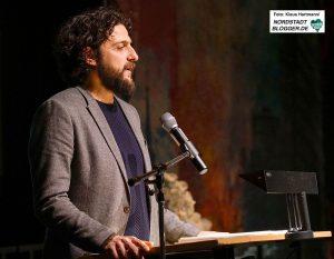 Erste Talkrunde im Dietrich-Keuning-Haus: 4 Jahre NSU-Prozess. Moderation, Aladin El-Mafaalani