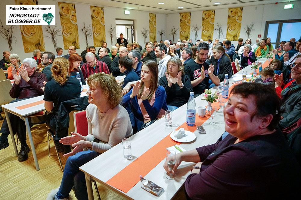 Neujahrsempfang Fraktion Die Linke und Piraten mit Bundespräsidenten-Kandidat Christoph Butterwegge im Wilhelm-Hansmann-Haus.