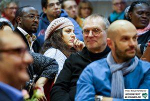 Auch SPD-Mitglieder verfolgten interessiert die Ausführungen von Butterwegge.
