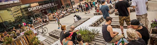 """Ab dem 1. Juni wird es heiß in Dortmund: Der """"Sommer am U"""" bringt drei Monate lang volles Programm"""