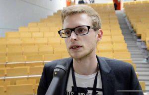 Japser Prigge ist der innen- und queerpolitische Sprecher der Linken in NRW. Foto: Alex Völkel