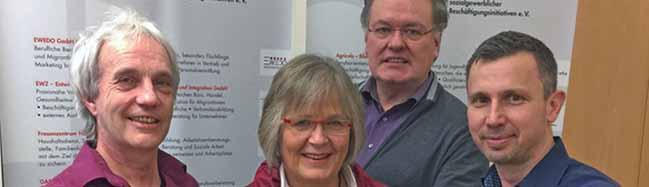 IG Sozialgewerblicher Beschäftigungsinitiativen: Anne Rabenschlag übergibt Vorsitz an Mark Kohlberger